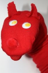 Craft a Fox in Socks-Style Puppet