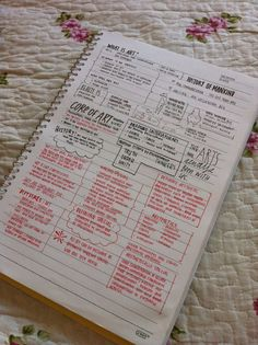 Art homework, organizer