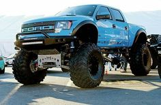 Even tho it's a Ford! Lifted Ford Raptor at 2014 Lifted Ford Trucks, Jeep Truck, Diesel Trucks, Custom Trucks, Cool Trucks, Chevy Trucks, Pickup Trucks, Lifted Jeeps, Lifted Chevy