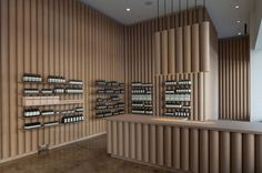 Cardboard Tubes Have Been Used Throughout This Aesop Store In Downtown LA Modern store interior design ideas – Brooks + Scarpa designed this Aesop retail store in downtown Nachhaltiges Design, Store Design, Design Ideas, Design Trends, Design Awards, Cabinet D Architecture, Interior Architecture, Shop Interior Design, Retail Design