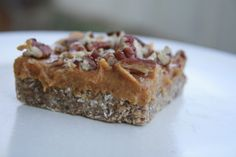 Merry Christmas everyone! If you need a last minute dessert recipe, these pecan pie bars were a hit in my household! They taste amazing and are so quick and easy to put together! I was skept...