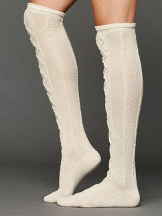 Free People Ingle Tall Sock, $24.00