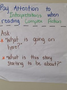 example anchor chart