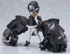 Black Rock Shooter Figure: Strength TV Animation Figma (5 in) #RightStuf2013