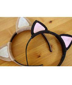 Cute Craft Idea: Cat Ears Headband