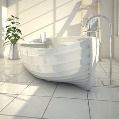 Freestanding Adamantx® bathtub OCEAN by ZAD ITALY design Gessica Mendilicchio