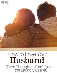 Excellent marriage advise! And such a good reminder for anyone who is married.