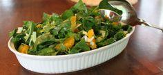Spinach Orange Salad, with Dressing recipe