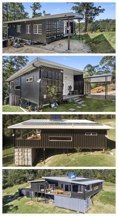 Crystal's Palace Luxury Container Home – Container häuser Cargo Container Homes, Shipping Container Home Designs, Shipping Container House Plans, Storage Container Homes, Building A Container Home, Container Buildings, Container Architecture, Container Design, Shipping Containers
