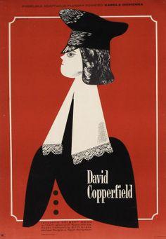 Eryk Lipinski - David Copperfield, Polish Movie Poster; 1972