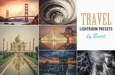 Landscape & Travel Lightroom Presets by BeArt-Presets on @creativemarket