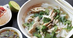 If you're unsure how to use fish sauce, look no further. From pho to pad Thai, we've rounded up our best fish sauce recipes for funky, fermented umami. Fish Sauce Vietnamese, Vietnamese Pork Chops, Vietnamese Recipes, Asian Recipes, Ethnic Recipes, Asian Foods, Vietnamese Noodle, Weekly Recipes, Vietnamese Cuisine