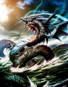Lightning Dragon | ... are the Storm Dragon, combining the elements of Water and Lightning