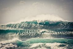 Surf Photography Print - Shimmering Waves, North Shore, Oahu, Hawaii - metallic or lustre on Etsy, $27.00 CAD