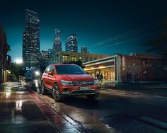 The all new 2016 VW Tiguan on Behance