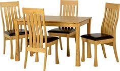 light oak dining table - Google Search