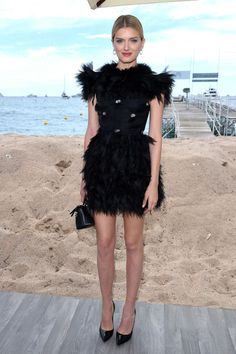 Derek Blasberg selects the 10 best dressed celebrities of the week: Lily Donaldson in Cannes