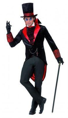 Déguisement Dracula homme Halloween Taille M