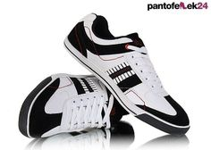 Czarno - białe buty sportowe / Black and white athletic shoes / 49 PLN #shoes #sport #spring #summer #athletic #white