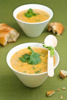 Pumpkin, Sweet Potato, Leek and Coconut Milk Soup — Imagelicious