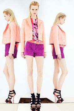PANTONE Color of the Year 2014 - Radiant Orchid in Fashion - Pucci [more at pinterest.com/eventsbygab]