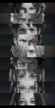 """Ace""""Sabo """"Luffy """"Zoro """"Sanji """"Law """"Nami """"Robin """"Hancock"""