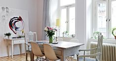 An absolute must see! Beautiful Scandinavian Apartment...just gorgeous.