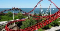 OH day trips: Amusement parks > Kings Island or Cedar Point (record breaking coasters! Day Trips In Ohio, Parc A Theme, Kings Island, Cedar Point, Tourist Trap, What To Pack, North America, Cool Pictures, National Parks