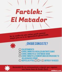 Fartlek el Matador http://runfitners.com/2012/06/fartlek-corre-mas-rapido-con-el-matador%E2%80%B3-iii-entrenamientos-para-corredores/