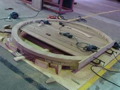 The crafting of a custom made Hobbit door based on the film 'Lord of the Rings'. I supply these doors and others to clients around the world. Cubby Houses, Play Houses, Hobbit Hole, The Hobbit, Timber Buildings, Modern Buildings, Root Cellar, Round Door, Floating House