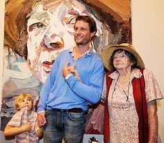Ben Quilty's portrait of artist Margaret Olley wins the 2011 Archibald Portrait Prize at the Art Gallery of News South Wales, Sydney. Here is his winning portrait and some of the other finalists. Gallery Of Modern Art, Artist At Work, Archibald, Australian Art, Artist Models, Australian Painting, Art, Portrait Art, Australian Painters