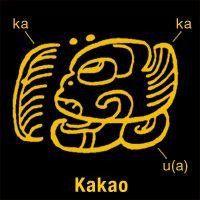 Glyphe maya signifiant cacao
