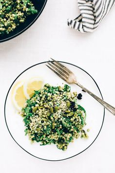 Sorghum Protein Pesto Power Salad   This simple salad is packed with plant-based protein, healthy fats, omega-3s, and energizing vitamins + minerals!