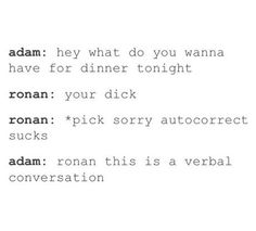 Ronan this is a verbal conversation.  #pynch