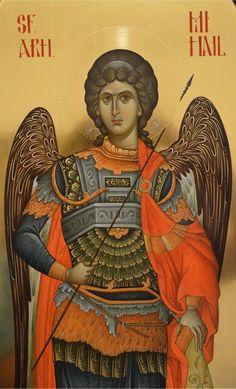 Byzantine Icons, Byzantine Art, Religious Icons, Religious Art, All Archangels, Catholic Art, Art Icon, Saint George, Orthodox Icons