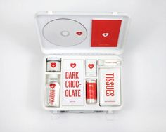 For Broken Hearts, A Love 'First Aid Kit' - DesignTAXI.com