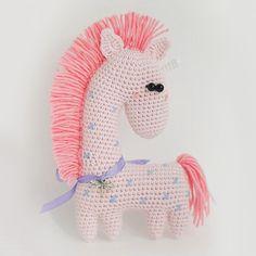 Amigurumi crochet horse pattern