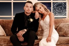 Why Kane Brown's Wife Katelyn Chose a 'Sleek and Simple' Wedding Dress Wedding Tux, Dream Wedding, Wedding Dresses, Cute Country Couples, Country Men, Hot Couples, Celebrity Couples, Celebrity Weddings, Beatiful People