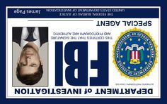 Supernatural FBI ID's.it's upside down and I'm grinning like an idiot (Only a Supernatural fan would get why that's significant. Supernatural Cosplay, Supernatural Fans, Supernatural Crafts, Sam Winchester, Winchester Brothers, Castiel, Jensen Ackles, Humor, Superwholock
