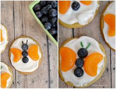Butterfly fruit cookie recipe