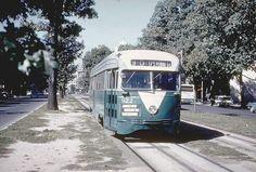 DC Transit PCC #1122 on Pennsylvania Avenue SE.