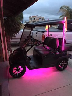 Golf Cart Custom Whips & Led Ground Effects Lights Canyon Lake Lifted Golf Carts, 10 Year Old Gifts, Beach Trailer, Golf Cart Bodies, Girls Golf, Women Golf, Custom Golf Carts, Pink Mobile, Golf Cart Accessories