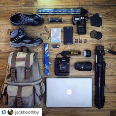 Check out Jack's setup and fun outdoors shots at @jackboothby - Share your gear at #mycamerabag ・・・ Did someone say adventure? My gear ready for a trip to the Lake District next week. @nikonphoto @hp @mammut absolute alpine @samsungmobile #nikond7000 #nikon7000 #nikond80 #note4