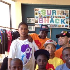 Our #surf #outreachprogram  kids in their new squad tees. - @surfshack_capetown- #webstagram