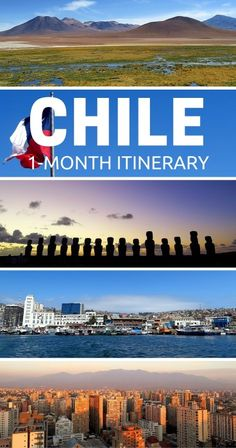 Chile Travel Itinerary - 1 Month Traveling in Northern and Central Chile, Plus Easter Island!