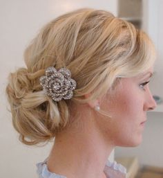 Bridesmaid hairstyle for May :)
