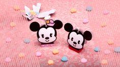 Minicaixas de doces do Mickey e Minnie para imprimir