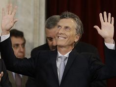 Mauricio Macri assumes the presidency of Argentina