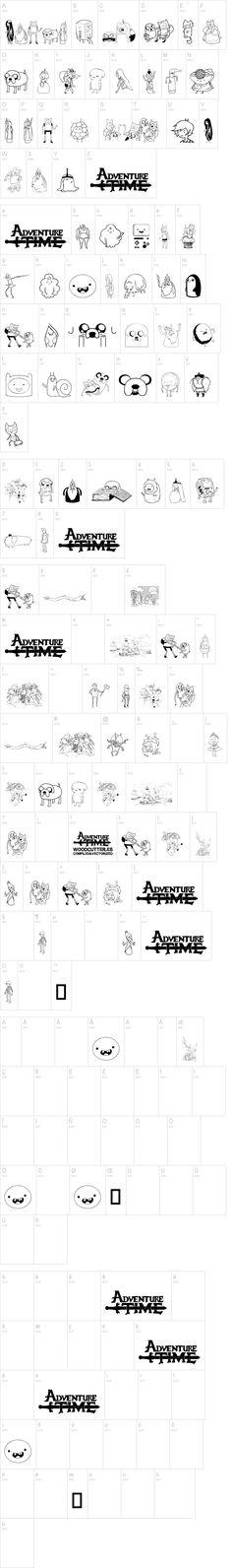 Adventure Time FONT
