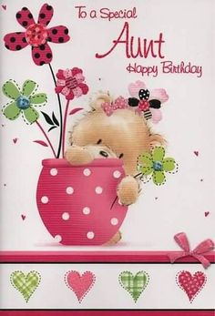 Happy Birthday Auntie, Happy Birthday Wishes For Auntie, Happy Birthday Auntie Wishes, Birthday Wishes For Auntie, Happy Birthday To Auntie Happy Birthday Wishes Aunt, Birthday Greetings For Aunt, Aunt Birthday, Birthday Blessings, Happy Birthday Messages, Happy Birthday Quotes, Happy Brithday, Monday Blessings, Christmas Blessings